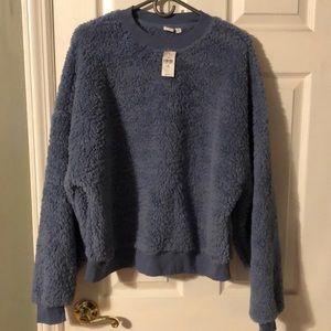 GAP NEW Sherpa sweater